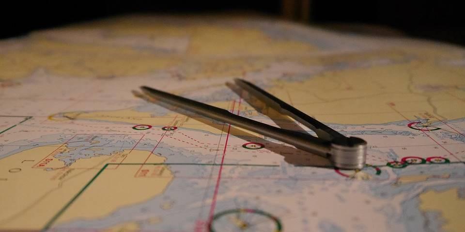 Seekarte zu unserem Online-Lehrgang zum Sportbootführerschein See